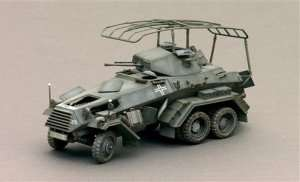Sd.Kfz.232 6 rad in scale 1-35 Italeri 6445