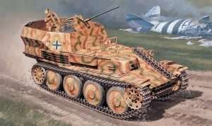 Sd.Kfz.140 Flakpanzer 38 Gepard in scale 1-35