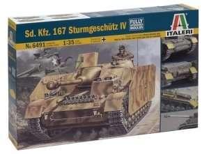 Sd.Kfz.167 Sturmgeschutz IV in scale 1-35
