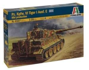 Italeri 6507 Pz.Kpfw.VI Tiger I Ausf. E mid production