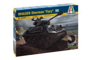 M4A3E8 czołg Sherman Fury in scale 1-35 Italeri 6529