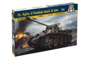German tank Panther ausf.G Italeri 6534