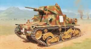 Carro Armato L6/40 in scale 1-35