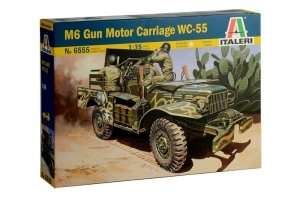 M6 Gun Motor Carriage WC-55 in scale 1-35