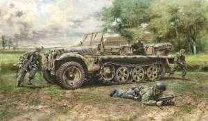 Sd.Kfz.10 Demag D7 with German Paratroopers Italeri 6561 in 1-35