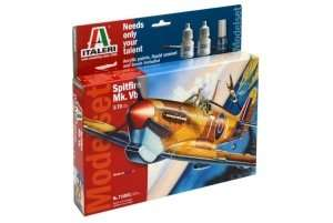 Gift Set - Model Spitfire Mk.Vb scale 1-72