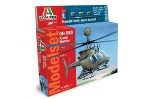 Gift Set - Model OH-58D Kiowa Warrior - scale 1-72