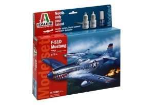 Gift Set - Model F-51D Mustang scale 1-72