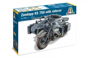 Zundapp KS 750 with Sidecar model Italeri 7406 in 1-9
