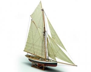 Yacht Puritan - Mamoli MV43- wooden ship model kit