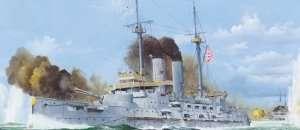 Japanese Battleship Mikasa 1905 scale 1:200
