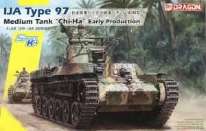 IJA Type 97 Medium Tank Chi-Ha 1-35 Dragon 6870