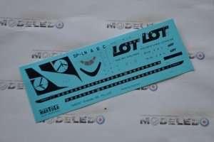 Decals PLL LOT Embraer 195 - 144D007