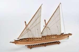 American Gunboat Arrow - Amati 1422 - wooden ship model kit