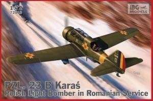 PZL. 23 B Karaś Polish Light Bomber in Romanian Service