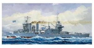 USS Mineapolis CA-36 model Trumpeter 05744 in 1-700