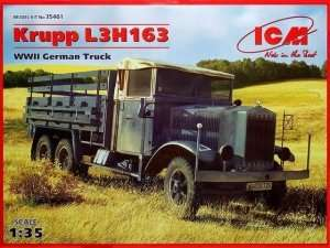 ICM 35461 Krupp L3H163 WWII German Truck in scale 1-35