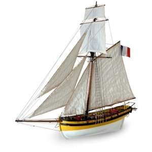 Wooden Model Ship Kit - Le Renard - Artesania 22401
