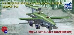 V-1 Fi103 Re 3 Piloted Flying Bomb ( Two Seats Trainer ) 1:35