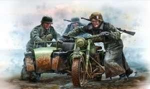 MB 35178 Niemieccy motocykliści, II wojna światowa