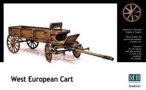 West European Cart in scale 1-35 MB3562