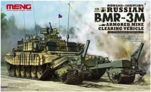 Russian BMR-3M Armored Mine Clearing Vehicle in scale 1-35