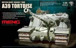 British Heavy Tank A39 Tortoise in scale 1-35