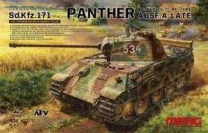 Sd.Kfz.171 Panther Ausf.A late in scale 1-35