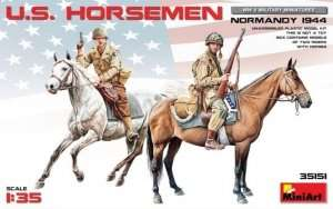 US Horsemen Normandy 1944 in scale 1-35