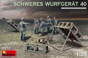 Schweres Wurfgerat 40 in scale 1-35