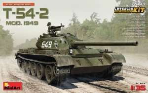 Tank T-54-2 Mod.1949 in scale 1-35 MiniArt 37004