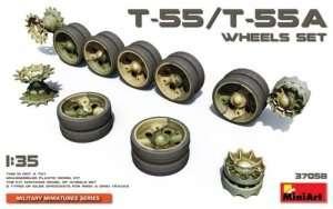 T-55 / T-55A Wheels Set - in scale 1-35