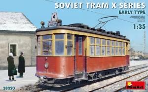 Soviet Tram X-series Early Type MiniArt 38020 in 1-35