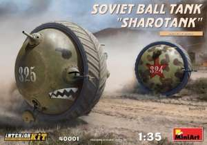 Soviet Ball Tank Sharotank - Interior Kit - in scale 1-35