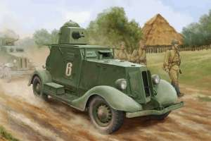 Soviet BA-20 Armored Car Mod.1937 in 1:35 Hobby Boss 83882