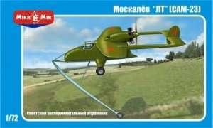 Moskalyev SAM-23 Soviet exper. aircraft in 1:72