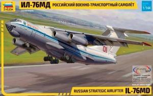 Model samolotu transportowego Ilyushin IL-76MD Zvezda 7011