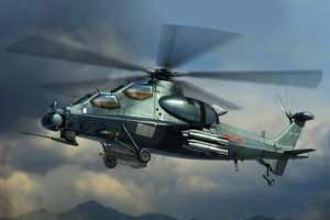 Chinese Z-10 scale 1:72