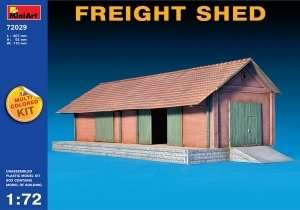 Freight Shed scale 1:72