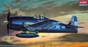 Model Academy 12481 myśliwiec Grumman F6F-3/5 Hellcat