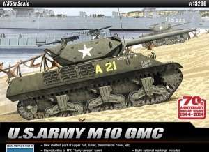 U.S. Army M10 GMC model Academy 13288 in 1-35