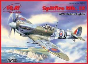 ICM 48061 British Fighter Spitfire Mk.IX in scale 1-48
