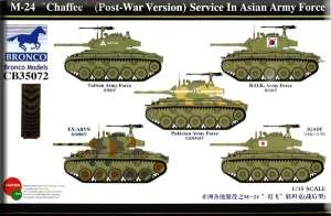 Model Bronco CB35072 M-24 Chaffee(Post-War Version) Service In Asia Army force in 1:35