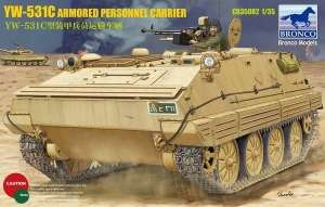 Model Bronco CB35082 YW-531C Armored Personnel Carrier in 1:35
