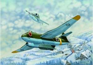 Model Bronco Blohm & Voss BV P178 Dive Bomber Jet in 1:72