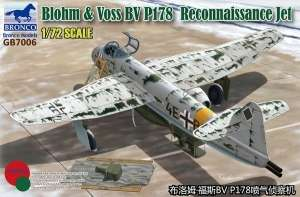 Model GB7006 Blohm & Voss BV P.178 Reconnaissance Jet in 1:72 Bronco