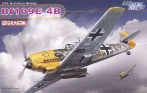 Messerschmitt Bf109E-4/B in scale 1-32 Dragon 3225