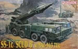 Model SS-1c SCUD B w/MAZ-543 TEL in scale 1-35