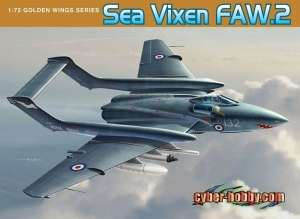 Model Dragon 5105 Samolot Sea Vixen FAW.2