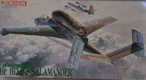 Model Dragon 5508 Heinkel He 162A-2 Salamnder